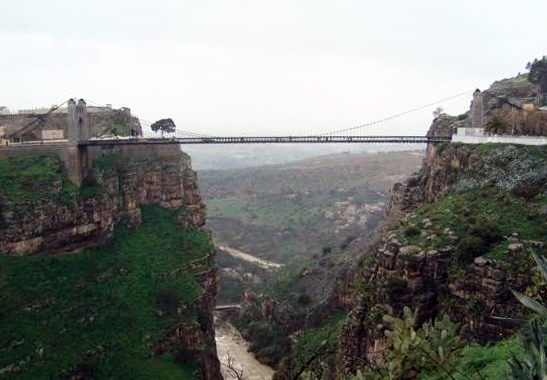 Algeria Big Constantine Bridge