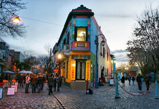 Argentina Buenos Aires La Boca