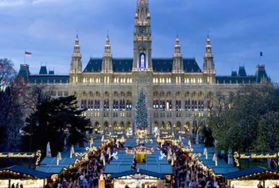 Austria Mercados De Navidad En Viena