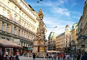 Austria Vienna Graben Square