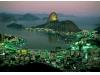 Rio de Janeiro city in the evening