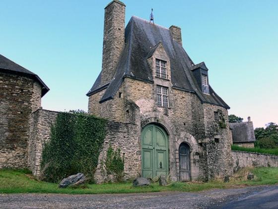 France A Stone Village House