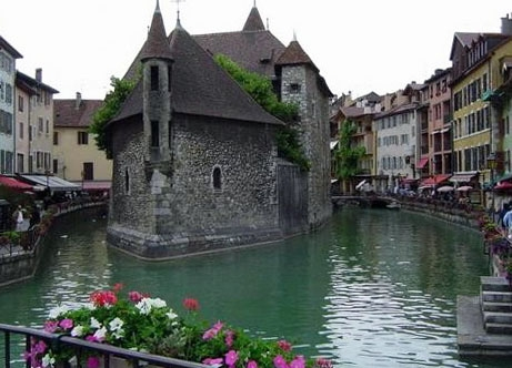 France Jail At Annecy In Paris