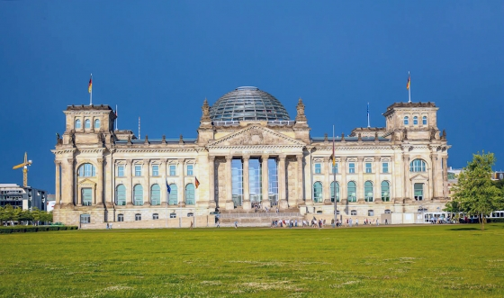 Germany The Reichstag Building