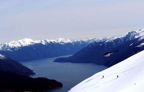 Greenland Vestgronland Skiing