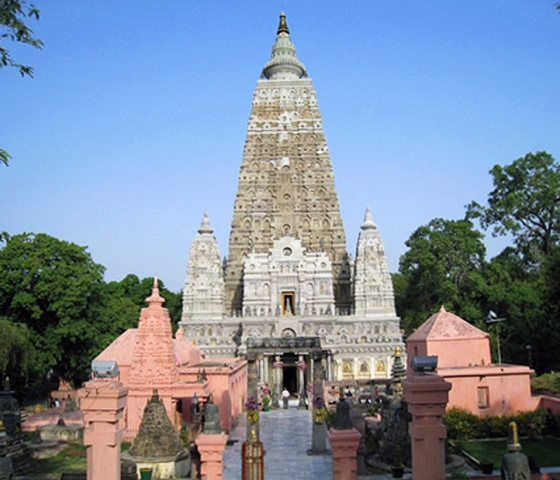 India The Mahabodhi Temple