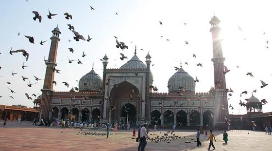 India The Jama Masjid In Delhi