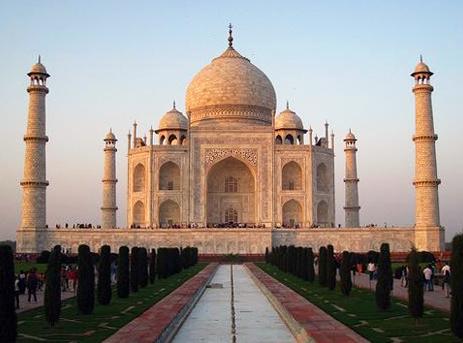 India The Taj Mahal In Delhi