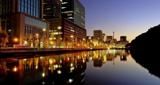 Japan At The Evening Tokyo