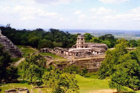 Mexico Chiapas Palenque Ruins