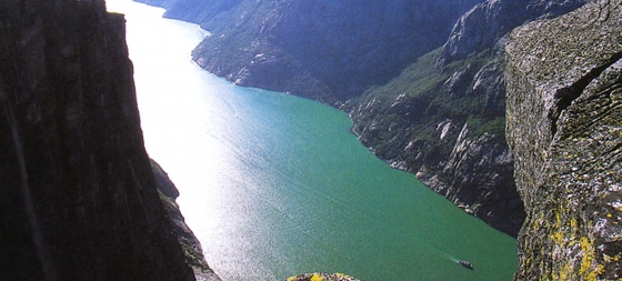 Norway A Spectacular View Photo From Rogaland