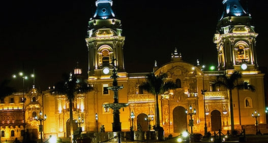 Peru The Basilica Cathedral Of Lima