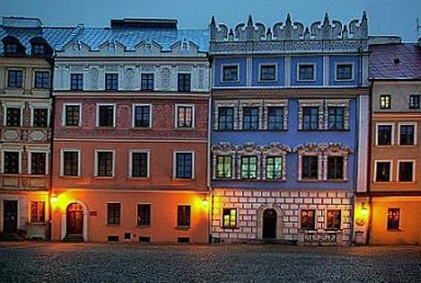 Poland Street In Lublin