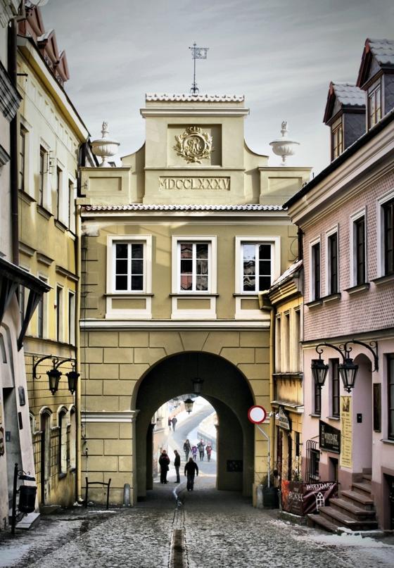 Poland The Grodzka Gate In Lublin