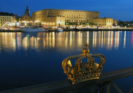 Sweden Evening In Sweden