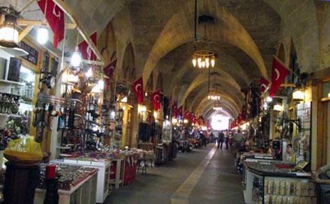 Turkey Historical Bakırcılar Bazaar