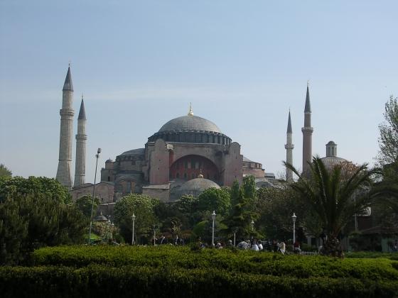 Turkey Ayasofya Mosque In Sultanahmet