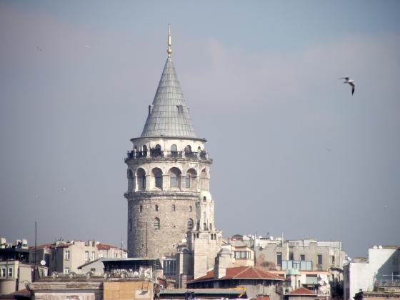 Turkey Beautiful Galata Tower