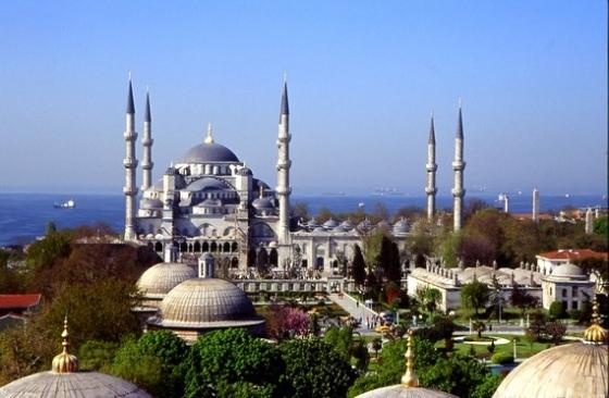Turkey Sultanahmet Mosque