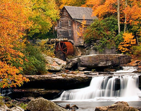 United States Blue Ridge Parkway In Virginia